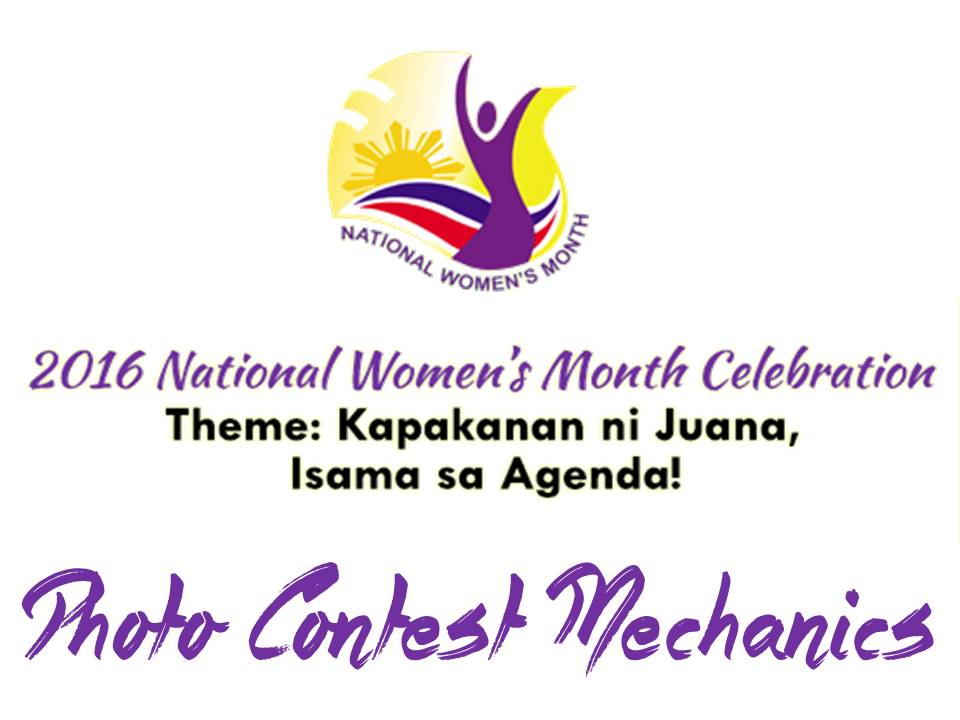 National Women's Month Photo Contest